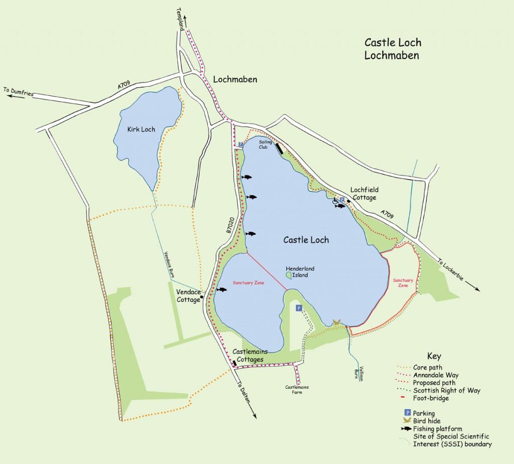 Castle Loch map for website